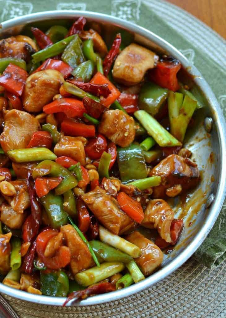 Here's how to make tasty One Skillet Kung Pao Chicken at home.