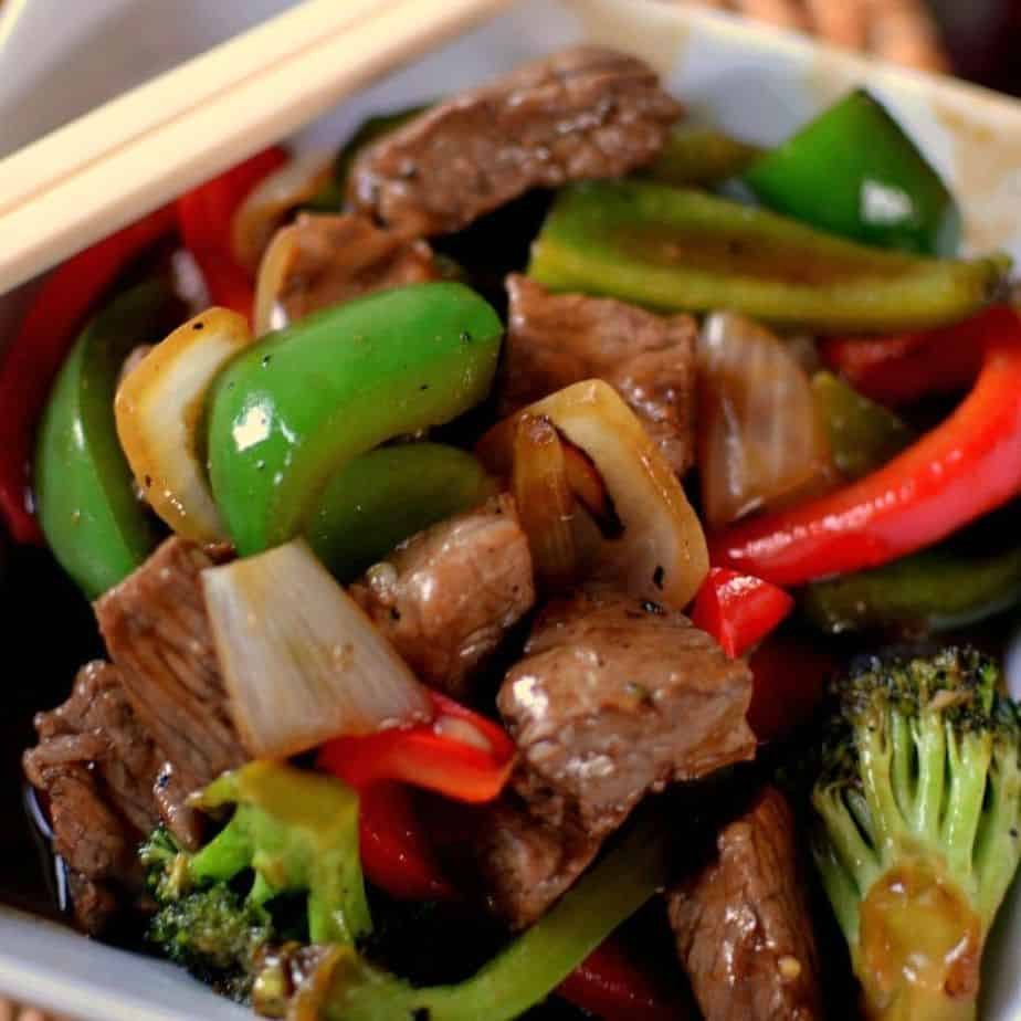 The Best y Beef Pepper Stir Fry | Small Town Woman Fry S Thanks Dinner Order Form on dinner delivery, dinner specials, dinner recipes, dinner template, dinner menu, dinner schedule,