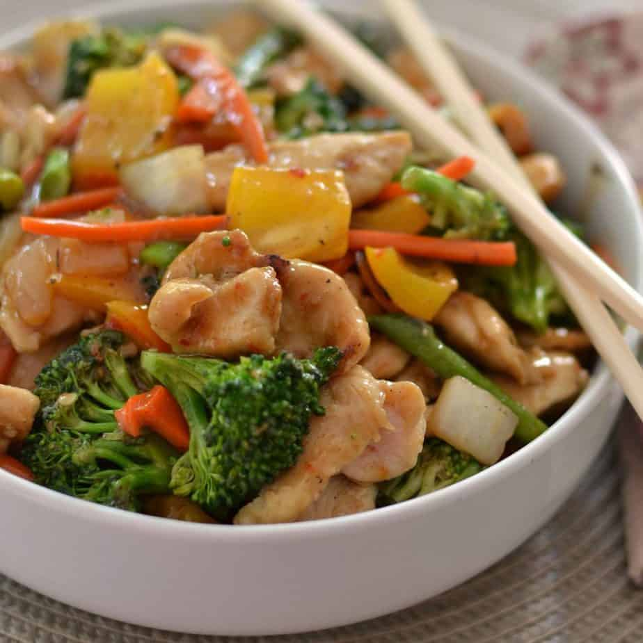 Mouthwatering Good Chicken Stir Fry