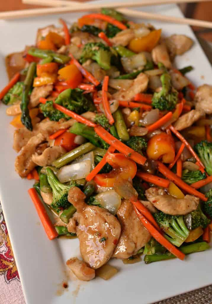 Easy Basic Chicken Stir Fry With Helpful Stir Fry Hints And Advice