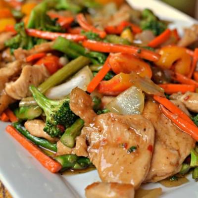 Easy Basic Chicken Stir Fry
