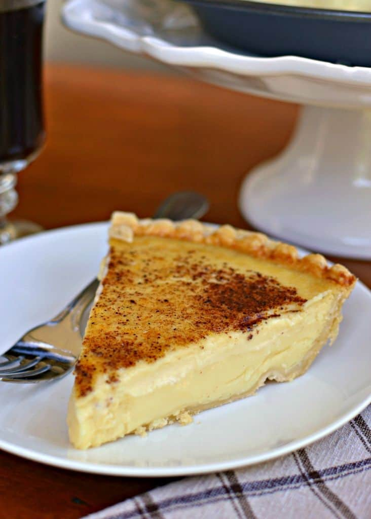 Old Fashioned Silky Creamy Custard Pie Small Town Woman