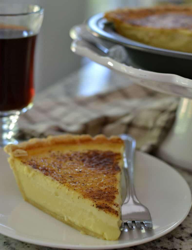 Old Fashioned Silky Creamy Custard Pie