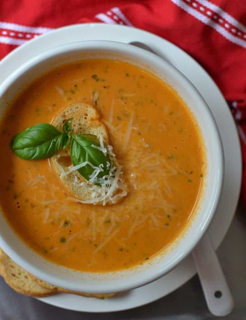 Tomato Basil Soup the Ultimate Tomato Lover's Experience
