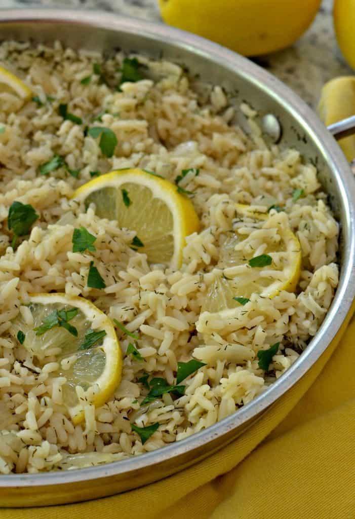 Lemon Rice ( A Lemon Lovers Favorite )