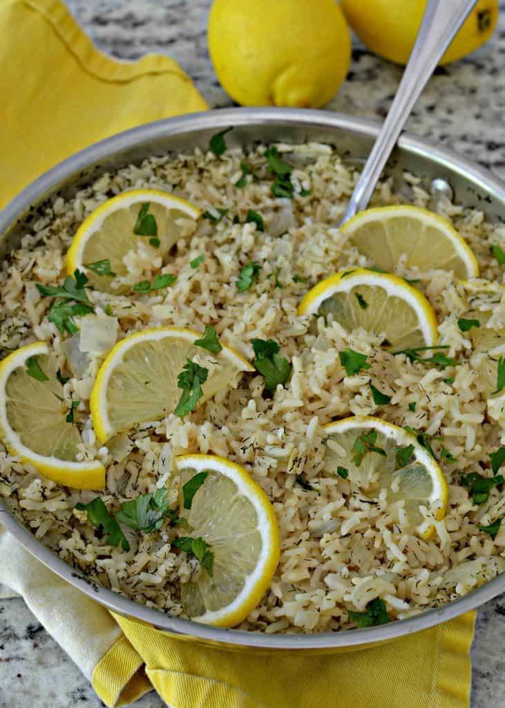 Delicious Lemon Rice