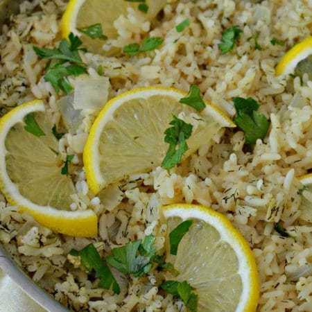 Lemon Rice (A Lemon Lovers One Skillet Easy Recipe)
