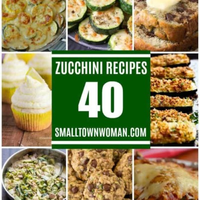 40 Zucchini Recipes