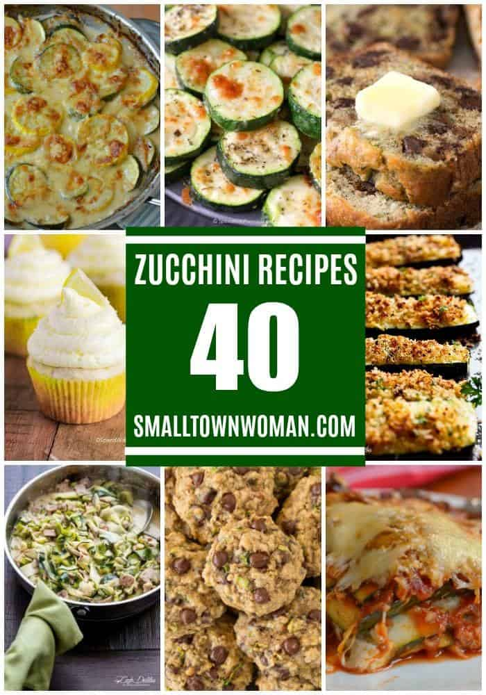 40 Fabulous Zucchini Recipes