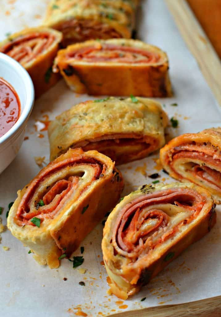Stromboli Recipe with a Made from Scratch Easy Pizza Dough
