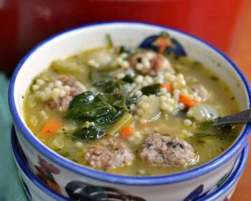 Easy Italian Wedding Soup Recipe