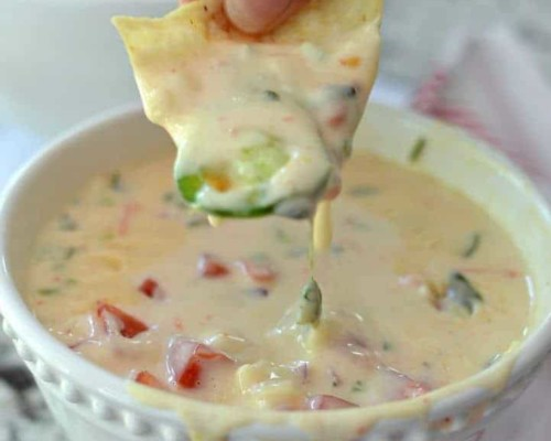 White Queso Cheese Dip