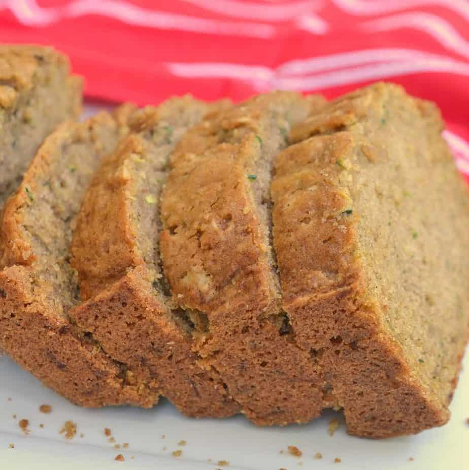 Easy Lush Zucchini Bread