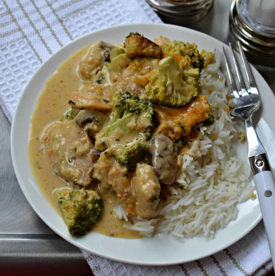 Scrumptious Chicken Divan Casserole