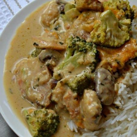 Chicken Divan Recipe (A Family Favorite Easy Weeknight Casserole)