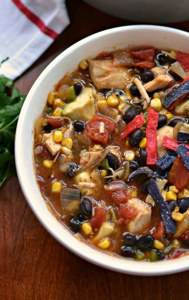 Chicken Tortilla Soup A Tasty Medley Of Southwest Flavors
