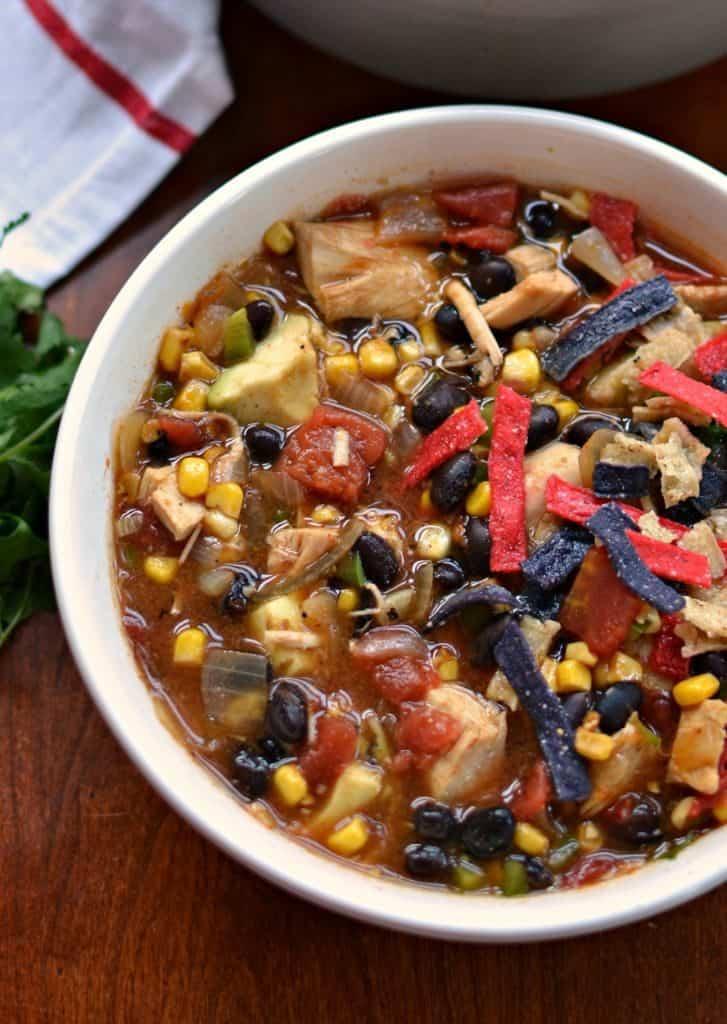 Chicken Tortilla Soup ( A Tasty Medley of Southwest Flavors)
