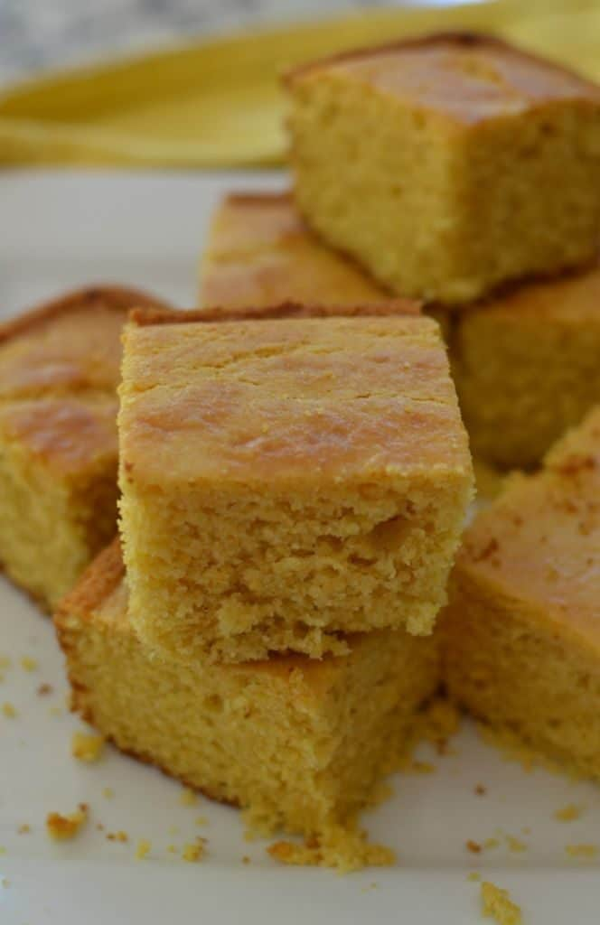 Sweet Southern Best Cornbread Recipe