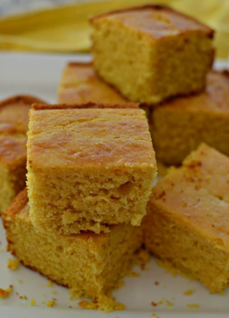Mouthwatering Best Sweet Moist Cornbread