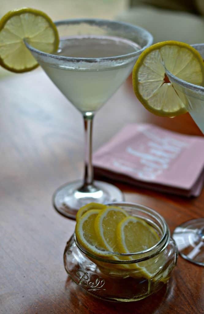 Lip Smacking Lemon Drop Martini Recipe