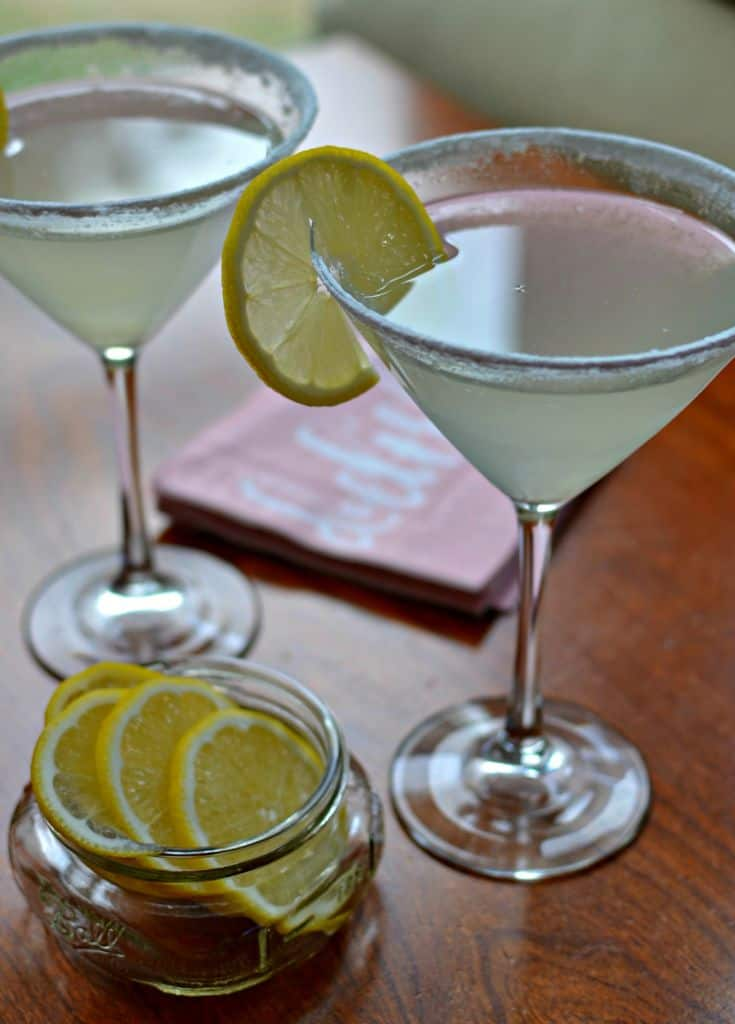 Lemon Drop Martini Limoncello