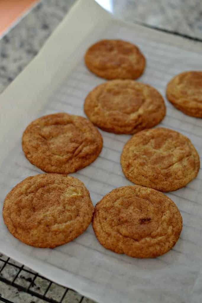 Snickerdoodle Cookies (Crispy Edges and Soft Chewy Centers)