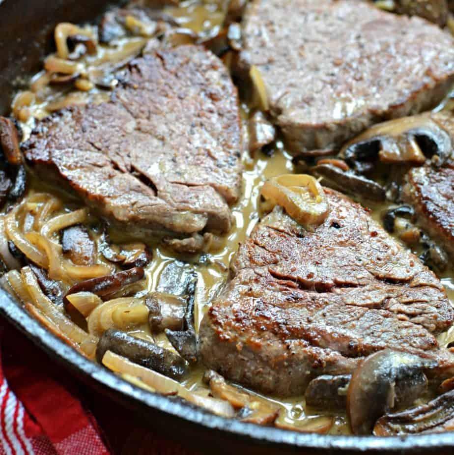 Mouthwatering Steak Diane