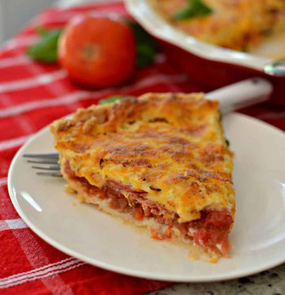 Mouthwatering Good Tomato Pie