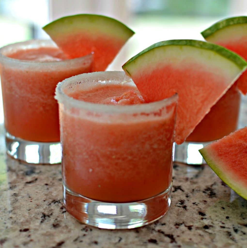 Lip Smacking Good Watermelon Margarita