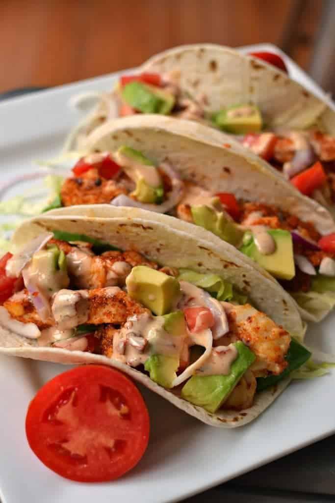 Delectable Chicken Tacos