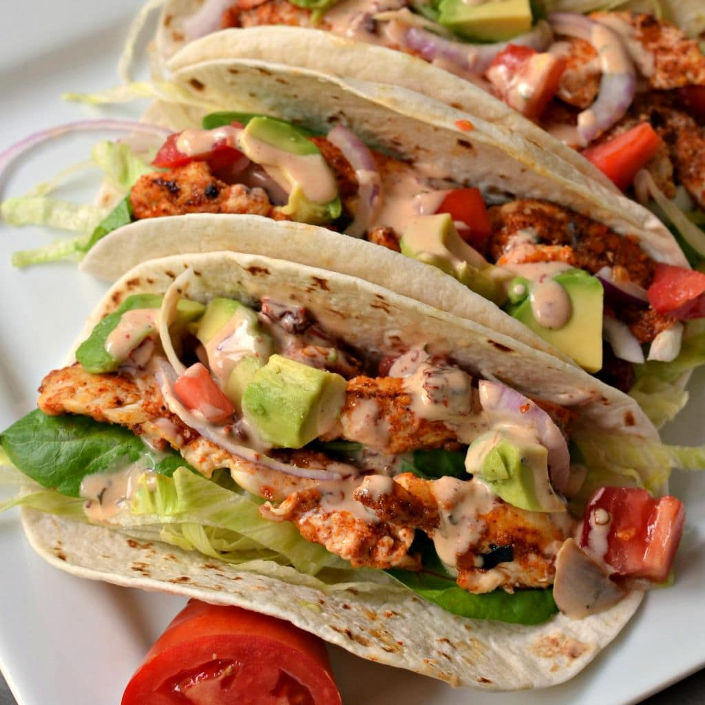 Make this delicious chicken taco recipe is a great way to add extra flavor to Taco night