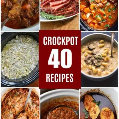40 Crockpot Recipes