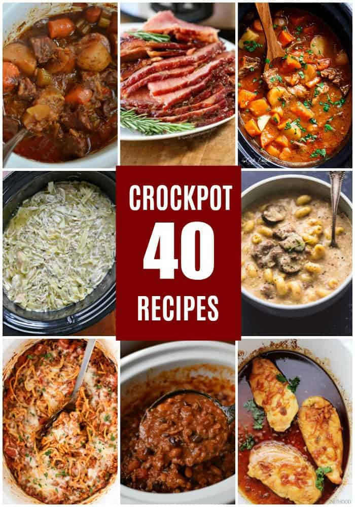 Crockpot Recipes (A Collection of the best for Fall and Winter)