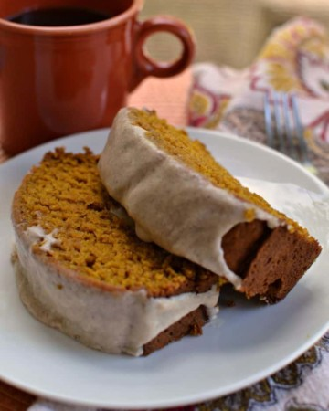 Pumpkin Bread Recipe with Cinnamon Glaze (The Perfect Fall Treat)