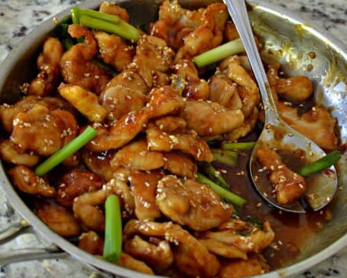 Sesame Chicken (A Recipe that Even the Novice Cook can Handle)