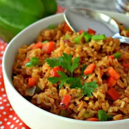 Spanish Rice (A Delicious Amazingly Easy One Skillet Side)
