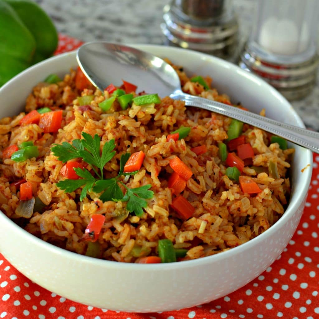 Spanish Rice Recipe (A Delicious Amazingly Easy One Skillet Side)