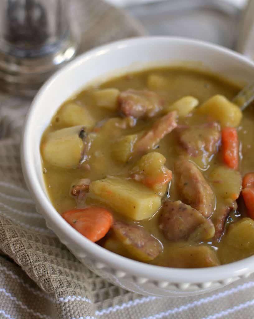 Delicious Split Pea Soup Recipe