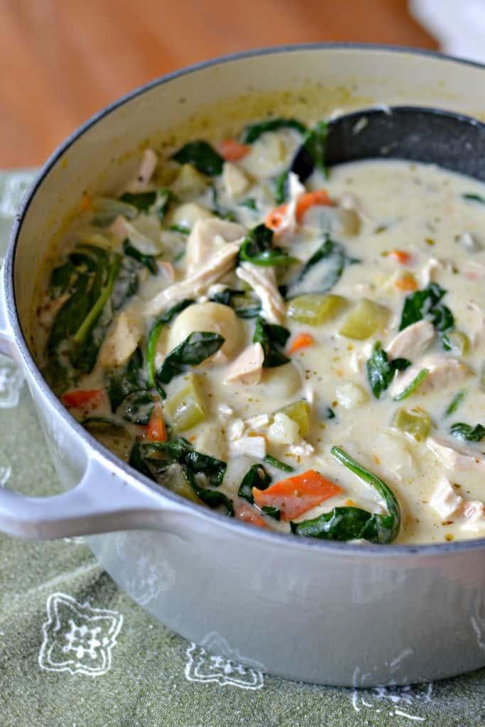 Scrumptious Chicken Gnocchi Soup