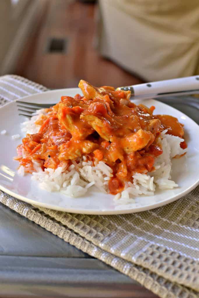 Scrumptious Chicken Curry with Coconut Milk