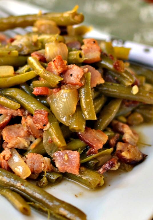 How to Cook Fresh Green Beans Southern Style