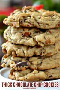Homemade Soft Chocolate Chip Cookies