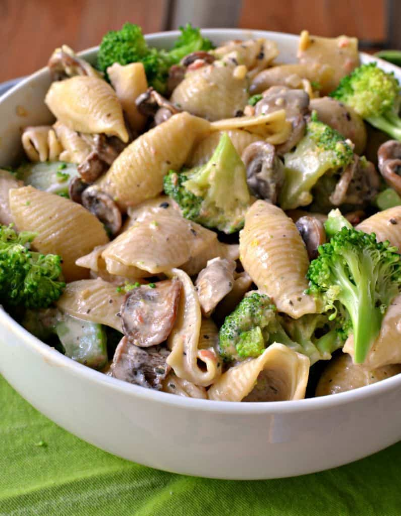 Delicious Pasta con Broccoli