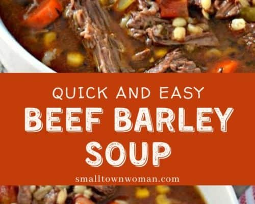Easy Beef and Barley Soup