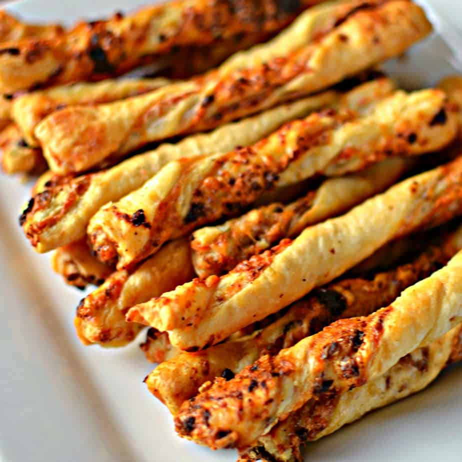 Cheese Straws Made Easy With Puff Pastry Small Town Woman