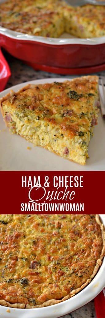 Ham and Cheese Quiche