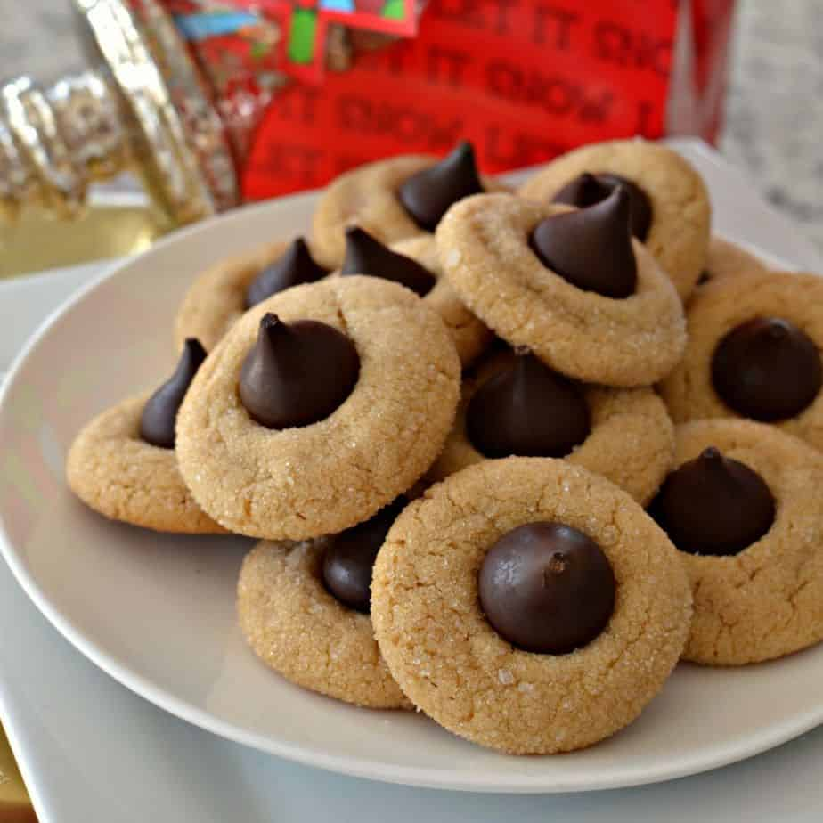 Peanut Butter Blossom Cookies are a classic, simple Christmas cookie that will always be a favorite