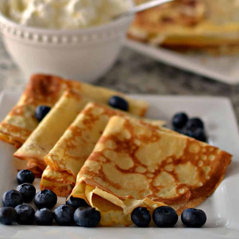 Easy Crepe Recipe A Six Ingredient Blender Recipe