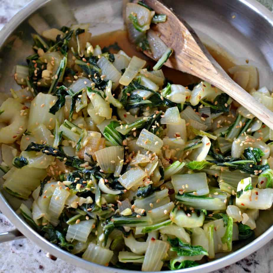 Stir Fried Bok Choy