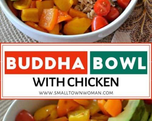 chicken buddha bowl